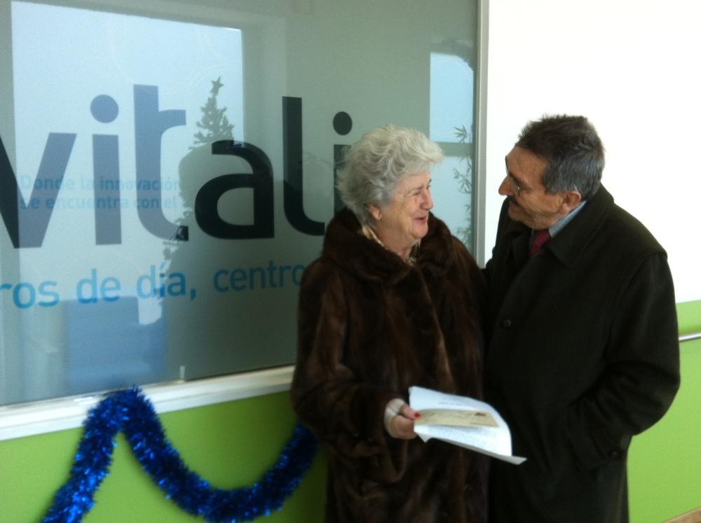 DIA 461: SAN VALENTIN: Alfredo y Adela, una historia de amor más allá del Alzheimer